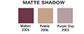 Matte Eyeshadows Small-Refill Chart #1
