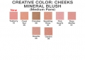 Pressed Mineral Blush Medium Refill Chart