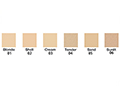Mineral Foundation Powder Large Refill Chart